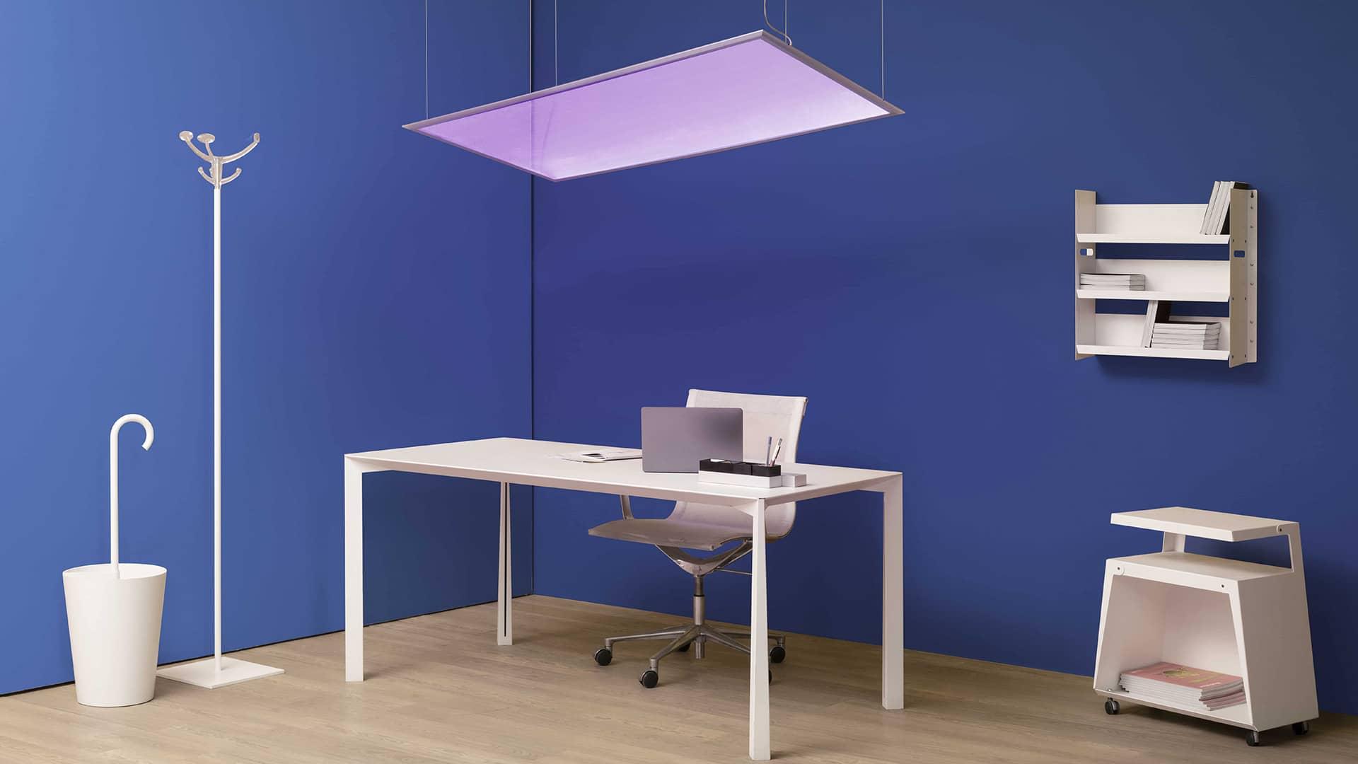 Artemide showcase their antiviral ultraviolet Integralis range at Design London