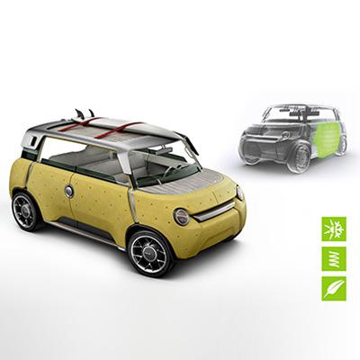 Toyota ME.WE concept car