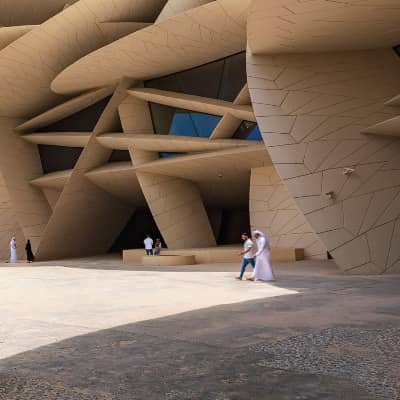 The new National Museum of Qatar