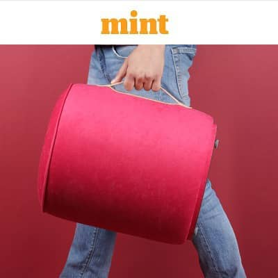 Carry around: Mug pouffe by Taamaa Store