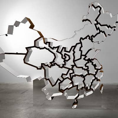 Free Standing China by industrial designer Ron Arad