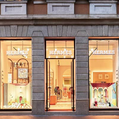 Designer Luca Nichetto creates four bespoke window displays to celebrate the reopening of Hermès' flagship store in Milan