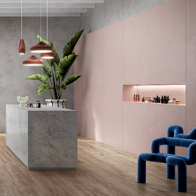 Ceramica Fondovalle plays with texture, shape, and colour at Cersaie 2021