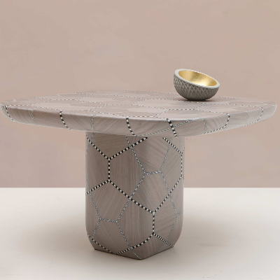 Nada Debs presents Carapace table at CTMP Design auction