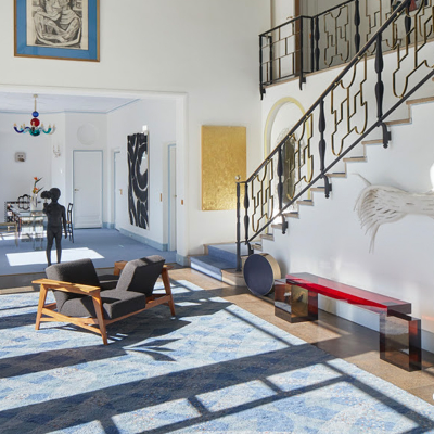 Nilufar Gallery exhibits at Gio Ponti's iconic L'Ange Volant for Genius Loci 2021
