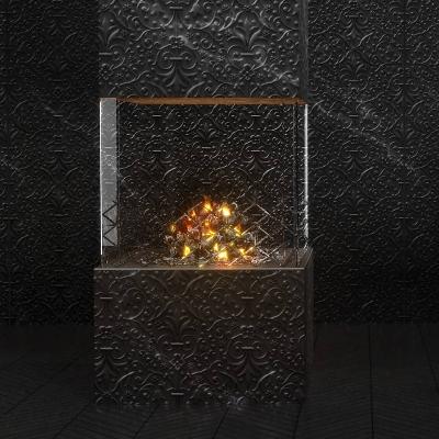 Marcel Wanders studio designs new fireplace for Element4