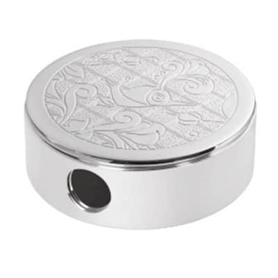 Silver-Plated Pocket Ashtray