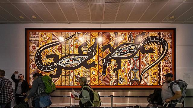 Kingsford Smith International Airport, Sydney – artwork