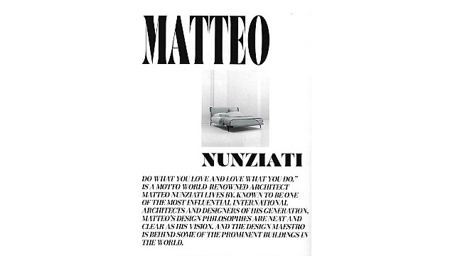 Matteo Nunziati – The Peacock Magazine India