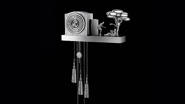 Stainless Steel Cuckoo Clock