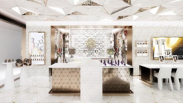 Decorté Flagship Store by Marcel Wanders studio, 2020