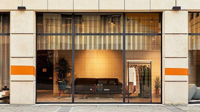 La Manufacture's showroom 3 Rue Edouard VII by Luca Nichetto