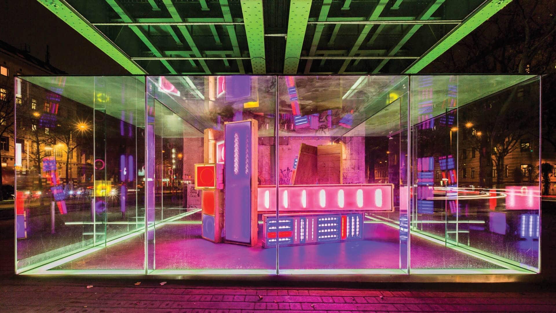 Hans Kotter's light sculptures unite design, photography and technology