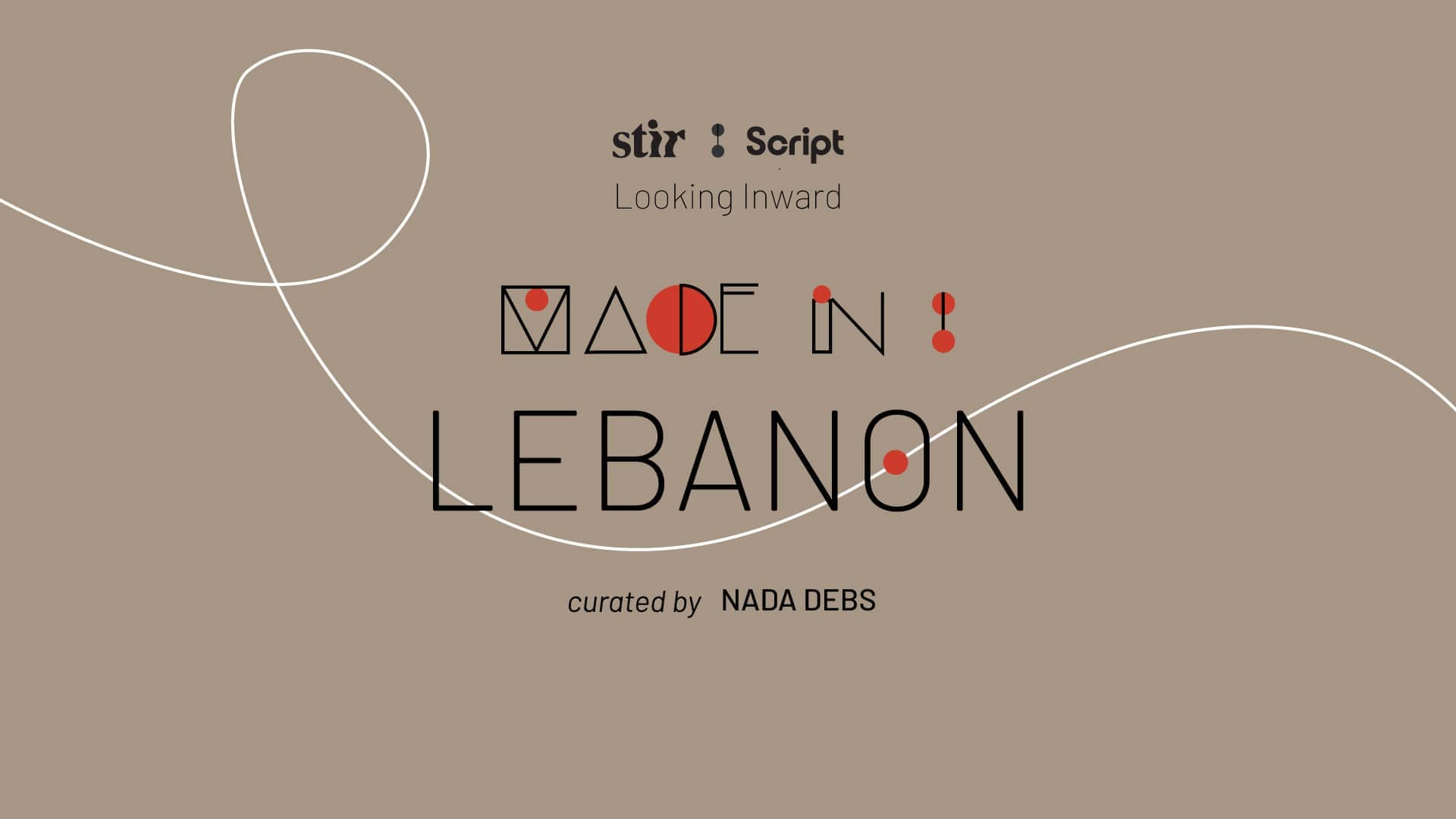 Made in Lebanon: Curated by Nada Debs Resilience by Design