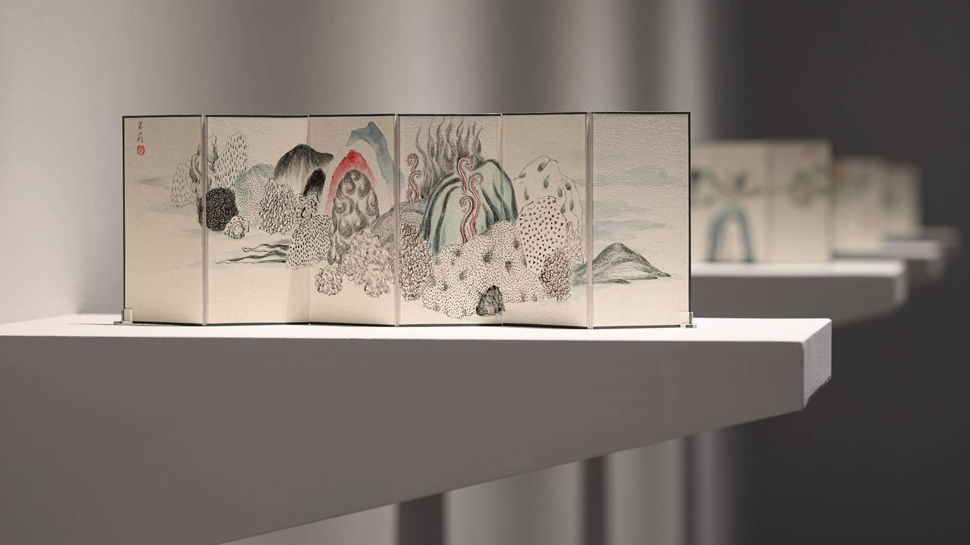 'Hidden Emotion in Texture' presents a new perspective on ancient shanshui painting